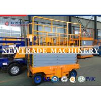 Buy cheap  CE Self Propelled Electric Mobile Scissor Lift Platform With Manual Four Wheelchair from wholesalers