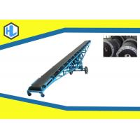 Wholesale Long Heavy Duty Inclined Belt Conveyor Machine , Modular Powered Belt Conveyor from china suppliers