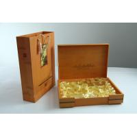 Wholesale Elegant Velet Cardboard Tea Pacing Box from china suppliers