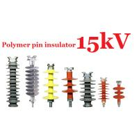 Quality 11kV 20kV 25kV 33kV Composite Polymer Pin Insulator For Distribution Lines for sale