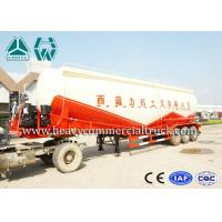 Wholesale Customize design Double V Shape Bulk Cement Tank Semi Trailer 30cbm - 60cbm from china suppliers