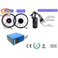 24V 180W Wheel Motor Electric Wheelchair Kit With 17AH Lithium Battery