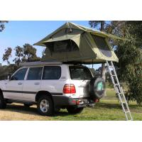 Wholesale Fireproof 4 Person Roof Top Tent , Folding Roof Tent With Large Window from china suppliers