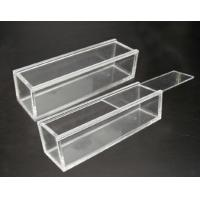 Wholesale Customized Portable acrylic display case with lock , scratch resistance from china suppliers