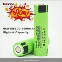 Wholesale NEW! 3.7V Panasonic 18650 3600 li-ion rechargeable battery cell 18650 3600mAh NCR18650G from china suppliers