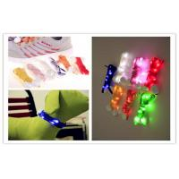 Wholesale Celebration Halloween Decorative Multi Color LED Light Shoelaces / Belt With Logo Printing from china suppliers