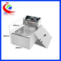 Wholesale One Basket Commercial Electric countertop deep fryer 5.5L for Home from china suppliers
