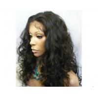 Wholesale Density 150% Human Hair Front Lace Wigs Kinky Curly With Baby Hair from china suppliers