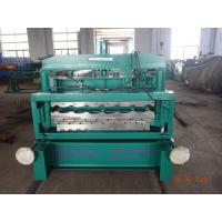 HT Double Layer Roof Panel Roll Forming Machine For Glazing Roof Sheet