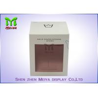 Wholesale Recycled C1s Crown Gift Packaging Boxes With Pvc Window , Two Sides Printing from china suppliers
