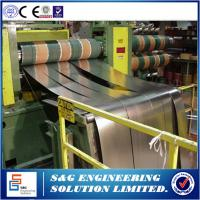 Wholesale One Slitter Steel Plate Cutting Machine , Low Operating Costs Metal Sheet Slitting Machine from china suppliers