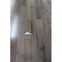 Buy cheap real solid Red Oak hardwood flooring, city gray color, AB grade from wholesalers