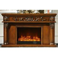 Wholesale Brown Painted Freestanding Flame Electric Fireplace For Living Room from china suppliers