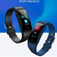 Wholesale 2019 New arrival Y9 smart bracelet with heart rate,blood pressure and oxygen monitoring fitness smart watch Y9 for sport from china suppliers