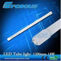 Wholesale 1200mm 18w t8 led tube light with energy saving UL TUV interior lighting/Glass tube from china suppliers