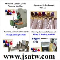 Quality aluminum coffee capsule making machine/compatible with Nespresso machine/full automatic/manufactory for sale