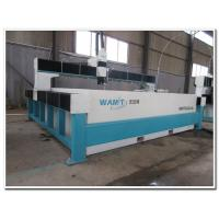 Buy cheap 8000*3000mm bridge type  waterjet cutting machine with 420Mpa pump from wholesalers