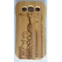 Wholesale Samsung Cell Phone Cases , Carved  Wooden Phone Cases Bright Colors from china suppliers