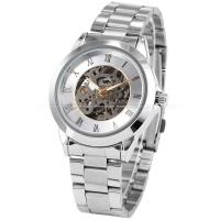 Wholesale Roman Silver Mens Wrist Watches 41mm , Stainless Steel Wrist Watch from china suppliers