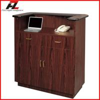 Wholesale Walnut Board Reception Station For Hotel and Restaurant -Reception Desk from china suppliers