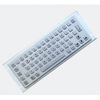 Buy cheap Kiosk Metal Keyboard Industrial Metal Keyboard With 36mm Trackball As Cursor Device from wholesalers
