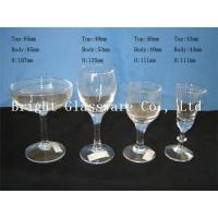 Wholesale Beautiful romantic design cocktail goblet glass, wine goblet glass for wholesale from china suppliers