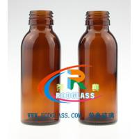 Quality 100ml amber pharmaceutical glass bottle for syrup for sale