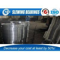 Wholesale Low Vibration Ball Bearing Slewing Ring Enternal Gear Row Cross Roller from china suppliers
