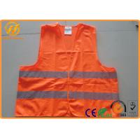 Buy cheap Hi Visibility Security Reflective Safety Vests for Construction Worker / Police / Adults from wholesalers