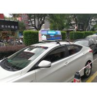 Quality High Brightness Taxi Top Led Screen / 1R1G1B Led Taxi Roof Sign Energy Saving for sale
