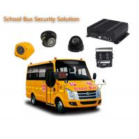 Wholesale 4 Channels 1080P / 720P 4 Camera Car DVR For School Buses , Mobile DVR Systems from china suppliers