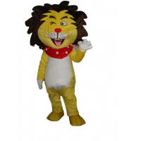 Wholesale Adult blue yellow sun lion mascot costume animal animal mascot costume lion from china suppliers