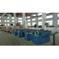 Wholesale High Efficiency Dry Wire Drawing Machine , PLC Control SS Wire Drawing Equipment from china suppliers