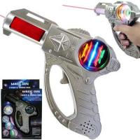 Wholesale Flashing Toys Laser Gun - Battery Operated Magic Plastic Toy Gun (KEC68818) from china suppliers