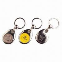 Wholesale Coin keychains, Available in Various Designs/Materials/Sizes, Customized Logos Welcomed from china suppliers