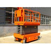 Wholesale Commercial Stationary Scissor Lift Platforms Single Man Movable Lightweight from china suppliers