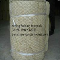 Wholesale Rock wool blanket insulation with wire mesh from china suppliers