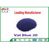 Wholesale C I Vat Blue 20 Dark Blue Bo Dyeing Of Cotton With Vat Dyes AAA Credit from china suppliers