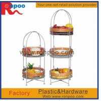 Wholesale Supermarket display stand,kitchen storage wire rack,fruit and vegetable display rack,metal display from china suppliers