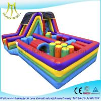 Buy cheap Hansel high quality colorful inflatable air castle,amusement equipment from wholesalers