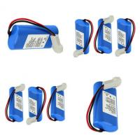 Wholesale Tracking Device 7.4 V Battery Pack With PCM / Connector , 2200mAh Capacity from china suppliers