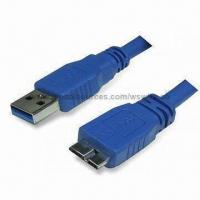 Wholesale Micro USB3.0 Adapter Cable with USB3.0 Micro A to Micro B Connector Plug/Jack from china suppliers