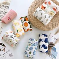 China Anti Bacterial Muslim Baby Blankets Ultra Absorbent Healthy Eco Printing for sale