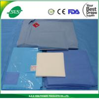 Wholesale Urology Set TUR Drapes Packs With Collection Pouch , Surgcial Gown from china suppliers