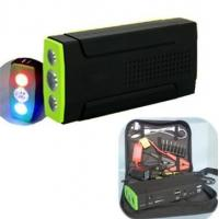 Quality 13800mAh Auto Multi-function Portable Jump Starter For 12V Car With 3 Colors LED for sale