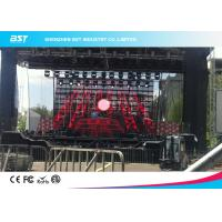 Wholesale High Resolution P7.81mm Transparent Video Wall Screen With 1/4 Scan , 1R1G1B from china suppliers