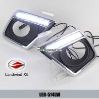 Wholesale Landwind X5 DRL LED Daytime driving Lights turn signal indicator upgrade from china suppliers