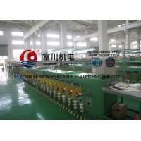 Buy cheap Alloy Wire / Round Copper Wire Annealing Machine For 0.15 - 0.64mm Wire 40 Pcs from wholesalers