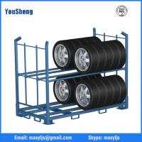 Industrial Warehouse Stacking Rack, Stillage Rack, truck tire rack