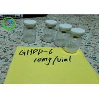 Wholesale Pharmaceutical 98% min Peptides Ghrp-6 5mg/vial 10mg/vial CAS 87616-84-0 from china suppliers